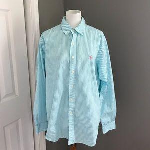 Men's Ralph Lauren Button Down Long Sleeve Size XL